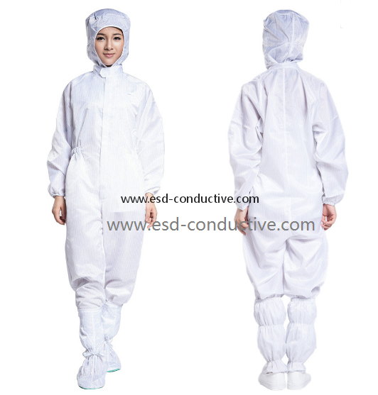 China Factory Antistatic Coverall /ESD Conjoined Clothes EC-01