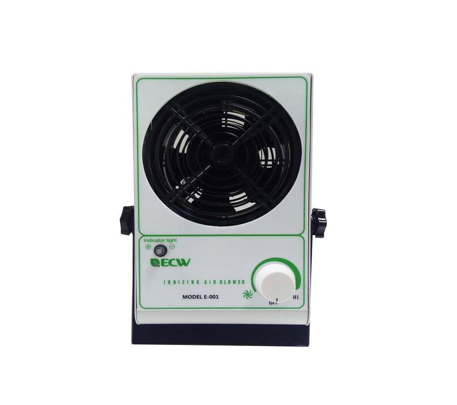 China Manufacturer E-001 Ionizing Air Blower, Static Eliminator, ESD Air Ionizer